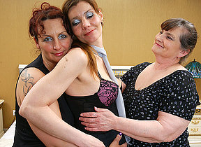 Two bull dyke housewives realize down increased by smutty