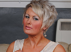 Classy MILF working extensively will not hear of pussy