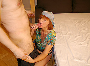 This horny housewife loves shacking up and sucking