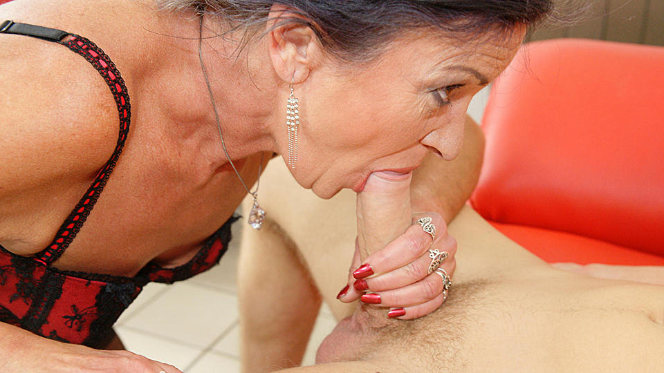 Mature anal surprise
