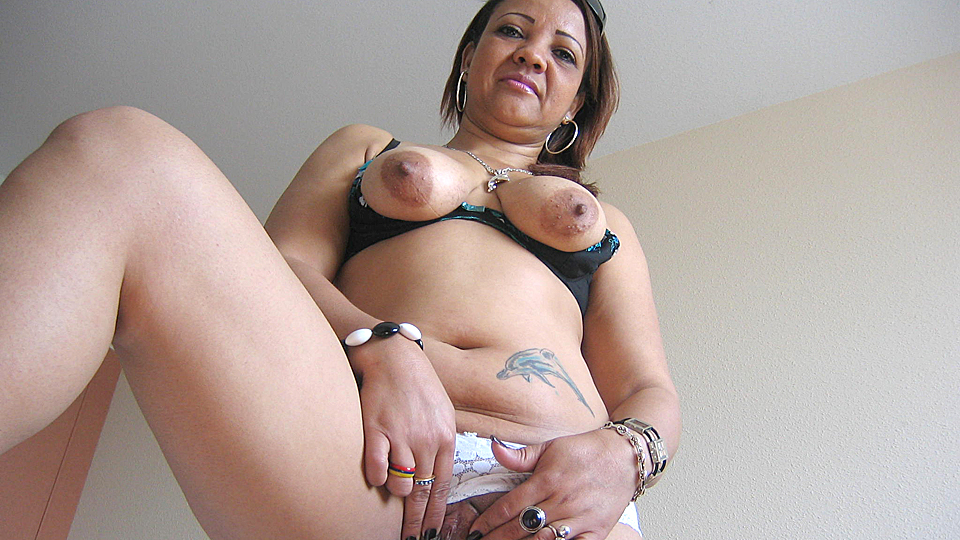 Milf loves her toy!