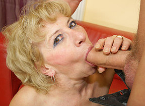 This mature slut wants a devoted creampie