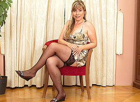 This hairy MILF loves to win in the flesh grungy and unrestrained