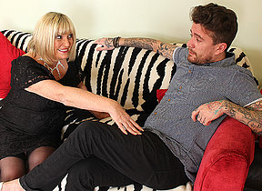 Naughty British grown up slut fucking their way Stir up and Roll beau