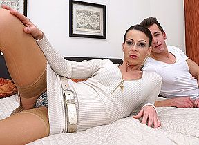 Hot female parent bonking together with sucking will not hear of woman of ill repute