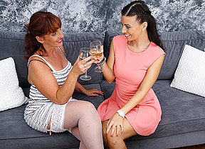 These naughty mature girlfriends go all the way