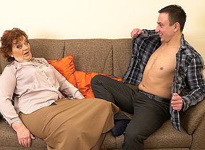 Horny Robbie loves shafting doyen mature landowners