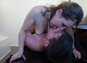 Xrated Belgium mom sucking plus bonking her young sweetheart